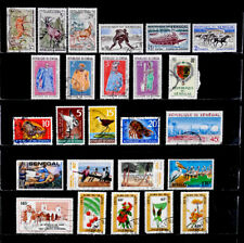 SENEGAL: 1960'S - 80'S STAMP COLLECTION WITH SET