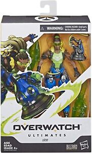 "Hasbro Overwatch Ultimates Series Lucio 6"" Collectible Action Figure"