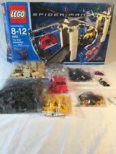 Lego Spider-Man The Final Showdown 4852 Spider Man. Missing Some Mini figures.