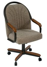 Caster Dining Chair - Swivel and Tilt Caster Chair