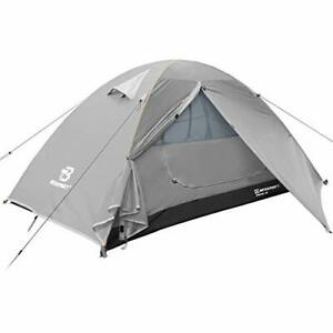 Bessport Camping Tent Lightweight Backpacking 1 Person Tent Waterproof Two Do...