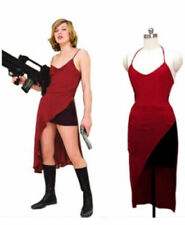 Resident Evil Alice Red Dress Cosplay costume