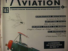 TOUTE L'AVIATION 162 ANA ALL NIPPON AIR / MIG 15 MIG 17 / FOKKER DR1 BARON ROUGE