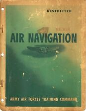 WWII Air Navigation AAF  * Army Air Forces * CDROM * PDF