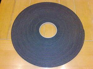 Greenhouse Glazing Seal - 25 metre rolls 10mm x 3mm PVC Gasket Cushion Strip 82'