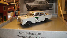 MERCEDES BENZ 220 SE TOURENWAGEN MUSEUM COLLECTION 1/43