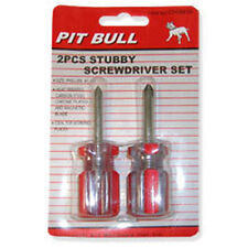 New 2pc Mini Stubby PHILLIPS Screwdriver Set #CHIS610 *US FAST FREE SHIPPING*