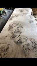 2.4m, 2inch  English Pippy / Burr Oak, Waney Edge & Kiln Dried River Table