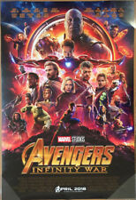 AVENGERS INFINITY WAR MOVIE POSTER 2 Sided ORIGINAL INTL FINAL 27x40 MARVEL