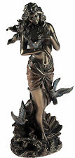 Aphrodite Goddess Of Love Large 28cm Bronze Effect Figurine Ornament