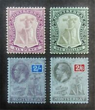 nystamps British Montserrat Stamp # 36//71 Mint OG H $41 M5y568