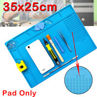 Soldering Repair Maintenance Platform Heat Insulation Silicone Pad Mat Tool