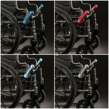BLUE Wheelchair Brake Extensions ONE PAIR Lever Lock  HAND-EAZE GRIPS