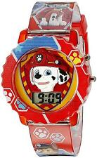 Paw Patrol Digital Watch Kids Boys Girls Marshall Chase Flashing Lights New