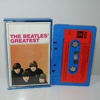 The Beatles' Greatest     Vintage German Audio Cassette ~ EMI 1C244-04 207 RARE