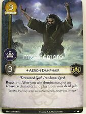 A Game of Thrones 2.0 LCG - 1x Aeron Damphair  #065 - Base Set - Second Edition