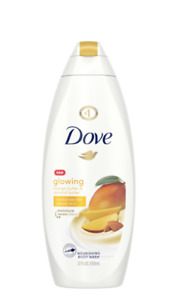Dove Glowing Body Wash, Mango Butter and Almond Butter, 22 Fl. Oz.