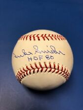 "Duke Snider Autographed Official Major League Ball  Dodgers Inscribed  ""HOF '80"""