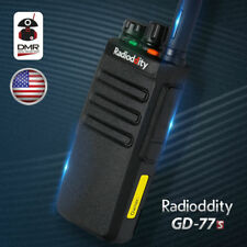 Radioddity Gd-77S Dmr V/Uhf Time Slot 2 Voice Prompt Two-way Radio Us Commercial