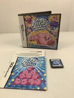 Kirby Mass Attack Nintendo DS Authentic Complete CIB - Tested - VGC