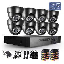 Système de Caméra CCTV 8CH 960H Vidéo HDMI DVR 700TVL Sécurité Surveillance Kit