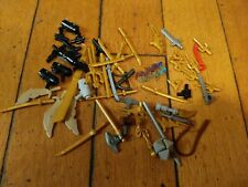 LEGO Weapons Accessories lot KNIVES guns RIFLES swords
