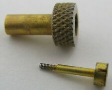 LeCoultre clock caliber 210 hand setting key (knob) gold plated