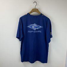 Vintage 90s Ripcurl Surfing Graphic Print T Shirt Size Men's Large
