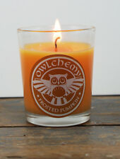 Frosted Pumpkin 75 g luxury candle with drawstring bag and matches