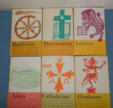 Set 6 Great Religions of Modern Man Buddhism Hinduism Islam Judaism Catholicism