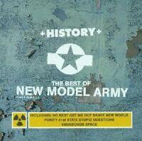 """NEW MODEL ARMY """"HISTORY THE SINGLE 85-91"""" CD NEU"""