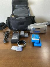 Sony Handycam Dcr-Hc85 MiniDv Camcorder 2.11 Mega Pix With Accessories