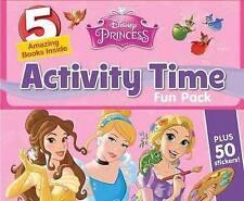 DISNEY PRINCESS ACTIVITY TIME FUN PACK / 5 AMAZING BOOKS INSIDE