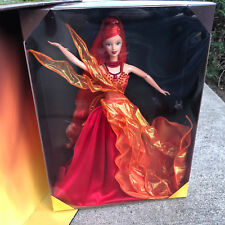 Barbie Doll Essence of Nature Collection Dancing Fire Limited Edition 1999