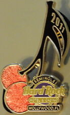 Hard Rock Hotel HOLLYWOOD FL 2011 Cherries with Music Note Stem PIN - HRC #59334