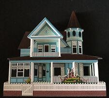 REARICK COTTAGE MAK03 MACKINAC ISLAND MI RETIRED SHELIA'S  VICTORIAN GABLE HOUSE