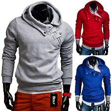 BOLF 06 Herren Sweatjacke Sweatshirt Kapuze Pullover Assassin's Pulli 1A1 Hoodie