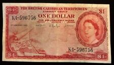 BRITISH CARIBBEAN TERRITORIES - One Dollar - 1963 - Very Fine Banknote