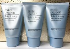 Lot of 3x Estee Lauder Take It Away Makeup Remover Lotion Travel Size 1 oz./each