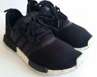 Adidas NMD R1 Black White Trainers UK 9, EU 43 1/3