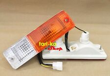 Front Bumper Turn Signal Lights Indicator Lamp For 1980-1986 Nissan 720 Pickup