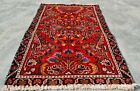 Authentic Hand Knotted Vintage Hamidoun Wool Area Rug 3 x 2 Ft (11290 KBN)