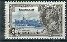 Swaziland Stamps 21 var SG 22c 2d Lightning Conductor MLH VF 1935 GCV £160