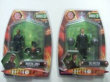 Doctor Dr Who Character Tenth 10th Master Martha Toclafane spheres 2 figures