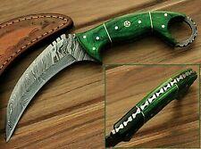 Karambit Tactical Knife Messer Damascus Jagdmesser Damastmesser