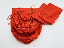 5x7 Inches Cotton Muslin Bag with Double Drawstrings. Choose Quantity
