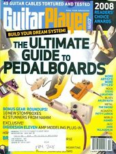 2008 guitar player magazine: guide to boards/stompboxes/digidesign eleven