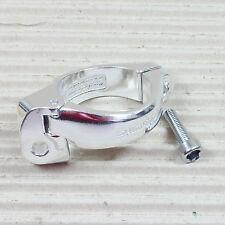 SHIMANO SM-AD15 Schelle für Umwerfer am Rennrad - Ø 34,9 mm - silber