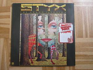LP /   Styx – The Grand Illusion     / DE PRESS /  RAR /