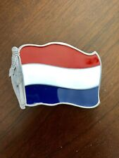 Netherlands Flag Holland Amsterdam Rotterdam With Bottle Opener Belt Buckle